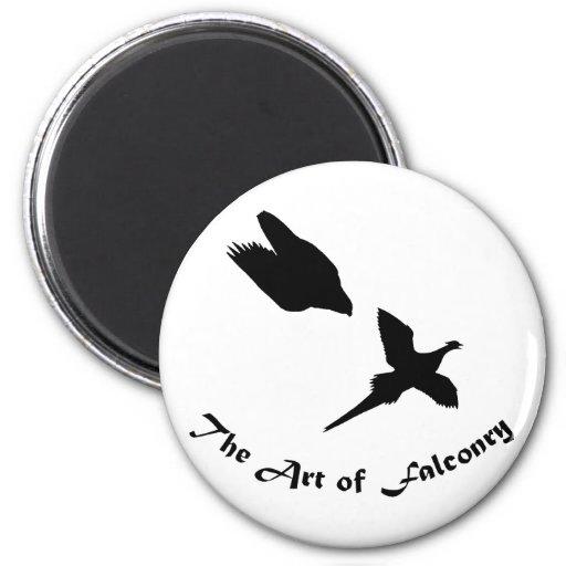 Art of Falconry- Peregrine Falcon Refrigerator Magnets
