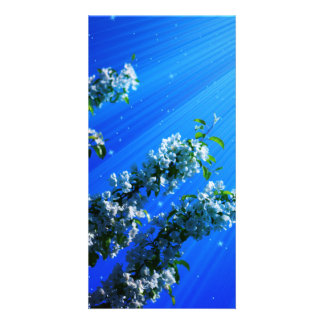 Art of Flower Personalized Photo Card