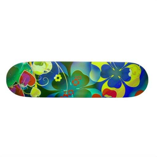 Art of Flowers Skate Board Deck