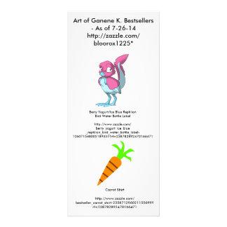 Art of Ganene K. Bestsellers Advert Custom Rack Card
