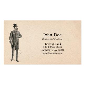 Art of Manliness Victorian Gentleman Business Card