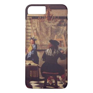 Art Of Painting by Johannes Vermeer iPhone 8 Plus/7 Plus Case