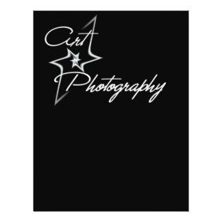 Art of photography 21.5 cm x 28 cm flyer
