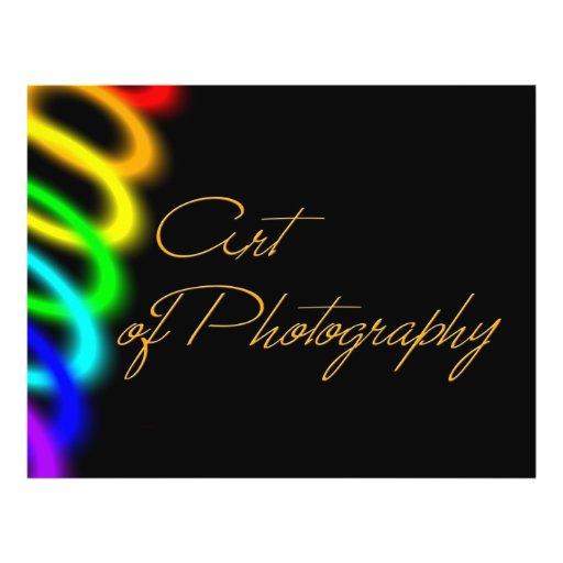 Art of photography flyers