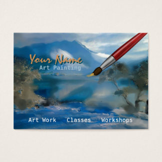 Art Painting - Business-, Profile Card