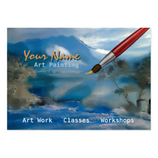 Art Painting - Business-, Profile Card Business Cards