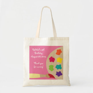 Art Palette Personalized Bag - Pink