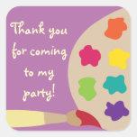 Art Palette Stickers - Purple