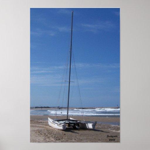 Art Photography Catamaran Poster or Canvas Print