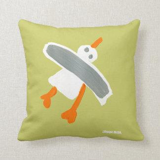 Art Pillow: John Dyer Seagull Throw Cushions