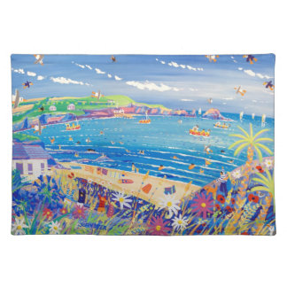 Art placemats: Mother Ivey's Bay Cornwall Placemat