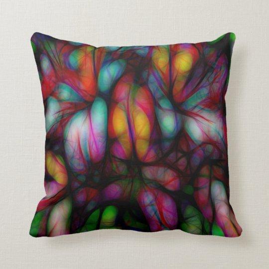 Art Popping Azalea Throw Pillow
