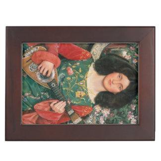 Art Portrait custom keepsake box