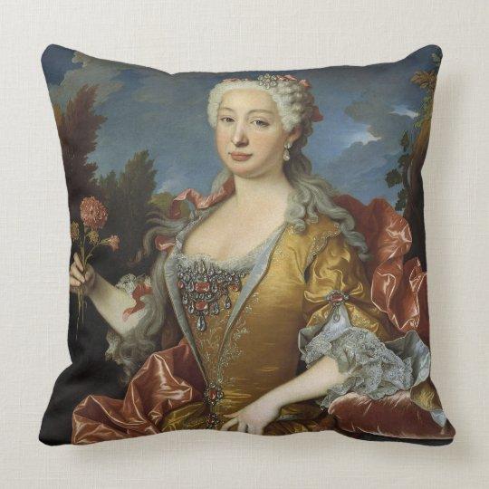 Art Portraits reversible throw pillow