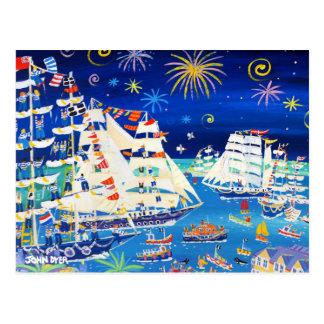 Art Postcard: Tall Ships and Small Ships 2014 Postcard
