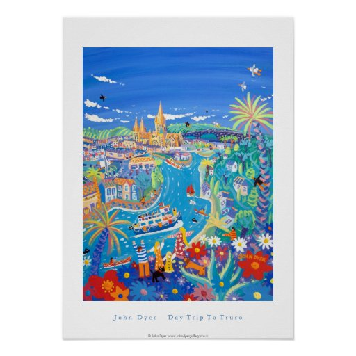 Art Poster: Day Trip to Truro