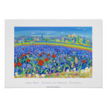 Art Poster: Flowers for Honey, Provence. Cairanne Poster