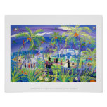 Art Poster: Grand Old House Wedding, Grand Cayman Poster