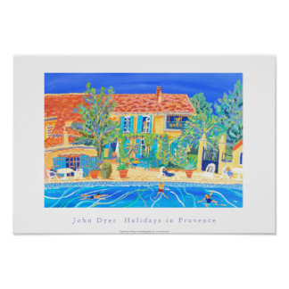 Art Poster: Holidays in Provence, Rasteau
