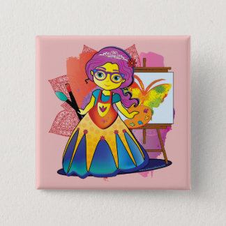 Art Princess Pin