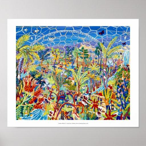 Art Print: Garden of Eden, The Eden project