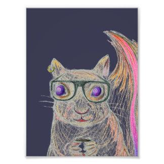 Art Print [Hipster not Hamster 2] Art Photo