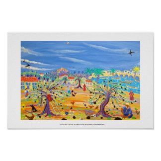 Art Print: The Olive Route. Carol Drinkwater