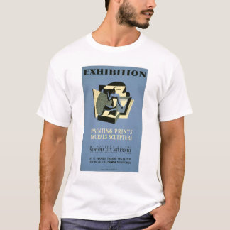 Art Project New York 1940 WPA T-Shirt
