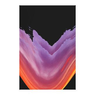 Art - Purple Splash Canvas Print