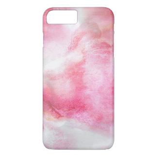 art red avant-garde background hand paint 2 iPhone 8 plus/7 plus case