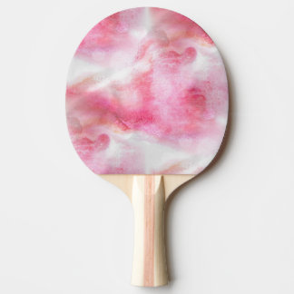 art red avant-garde background hand paint 2 ping pong paddle