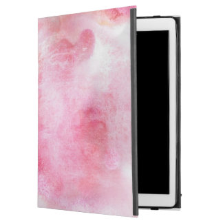 "art red avant-garde background hand paint iPad pro 12.9"" case"