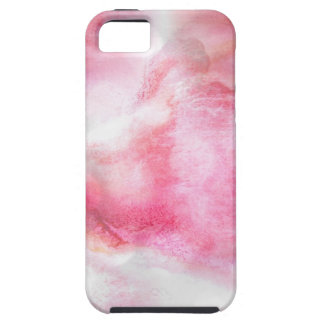 art red avant-garde background hand paint iPhone 5 covers