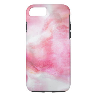 art red avant-garde background hand paint iPhone 8/7 case