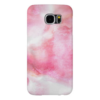 art red avant-garde background hand paint samsung galaxy s6 cases