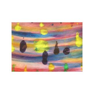 Art relaxing colour canvas print