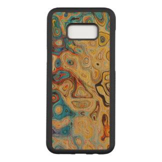 Art Samsung Galaxy S8+ Slim Cherry Wood Case