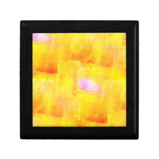 art seamless color yellow background watercolor gift box