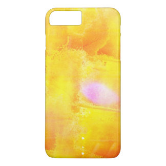 art seamless color yellow background watercolor iPhone 8 plus/7 plus case