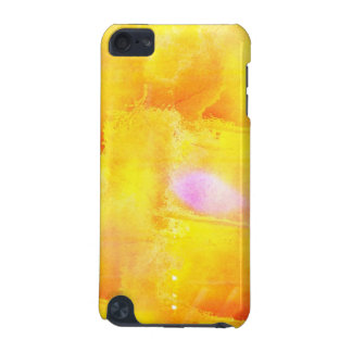 art seamless color yellow background watercolor iPod touch (5th generation) cover