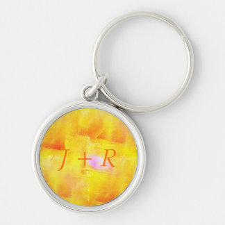 art seamless color yellow background watercolor key ring