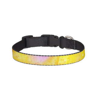 art seamless color yellow background watercolor pet collar