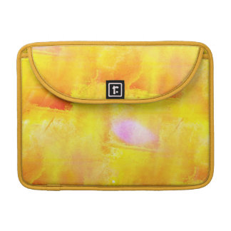 art seamless color yellow background watercolor sleeve for MacBooks