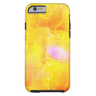 art seamless color yellow background watercolor tough iPhone 6 case