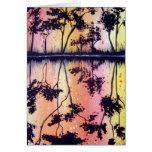 Art Sherbert Trees Greeting Card