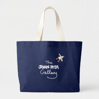 Art Shopping Bag: The John Dyer Gallery, Seagull Large Tote Bag