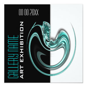 Art exhibition invitations announcements zazzle uk art show gallery exhibition jewelery customize invitation stopboris Image collections