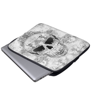 Art skull Electronics Bag