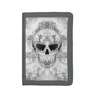 Art skull wallet