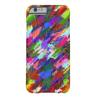 art Splash Abstract Barely There iPhone 6 Case